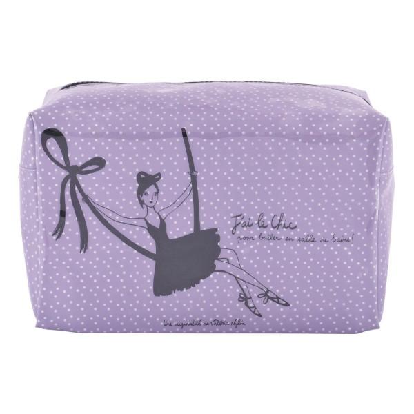 trousse de toilette femme violette trousse de toilette. Black Bedroom Furniture Sets. Home Design Ideas
