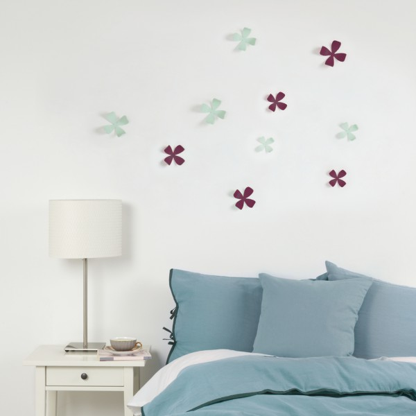 deco murale fleurs d coration murale. Black Bedroom Furniture Sets. Home Design Ideas