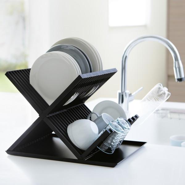 range vaisselle cuisine egouttoir vaisselle noir. Black Bedroom Furniture Sets. Home Design Ideas