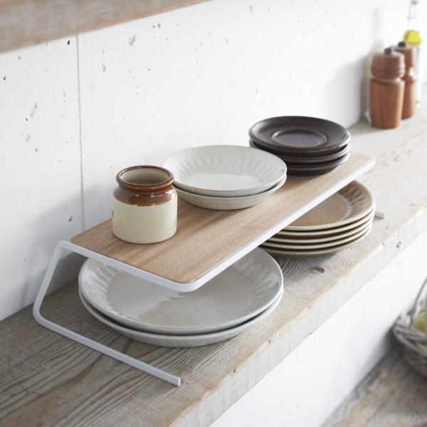 rangement cuisine tag re cuisine bois et acier. Black Bedroom Furniture Sets. Home Design Ideas
