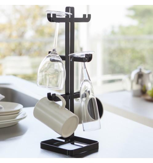 porte tasse design noir rangement mug. Black Bedroom Furniture Sets. Home Design Ideas