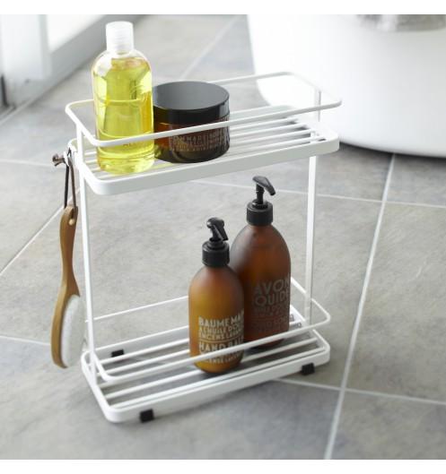Etag re salle de bain en metal rangement baignoire for Rangement baignoire