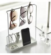 Porte bijoux et lunettes blanc Yamazaki