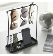 Porte bijoux et lunettes noir Yamazaki