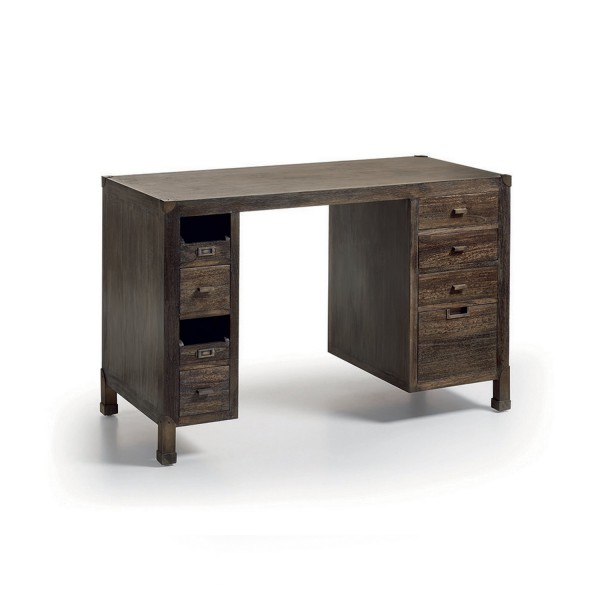 bureau moderne en bois meuble de travail. Black Bedroom Furniture Sets. Home Design Ideas