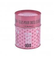 Boite coton tiges rose Extra doux
