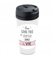 Mug isotherme personnalisable Eve