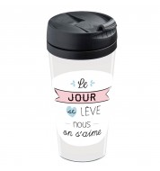 Mug isotherme personnalisable Humeur amoureuse