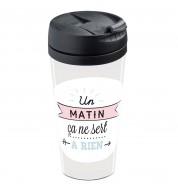 Mug isotherme personnalisable Matin