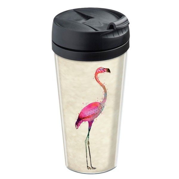 mug isotherme original mug flamant rose. Black Bedroom Furniture Sets. Home Design Ideas