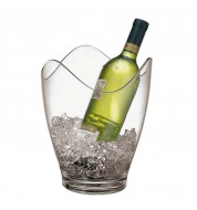 Seau à champagne transparent 20cm