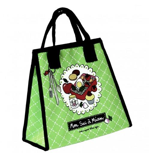 petit sac isotherme vert sac lunch isotherme zigoh. Black Bedroom Furniture Sets. Home Design Ideas