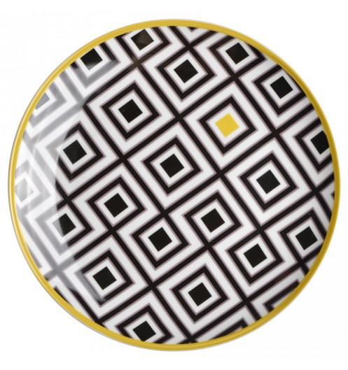 assiette dessert design coffret cadeau. Black Bedroom Furniture Sets. Home Design Ideas
