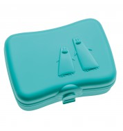 Boite a gouter Ping Pong turquoise Koziol