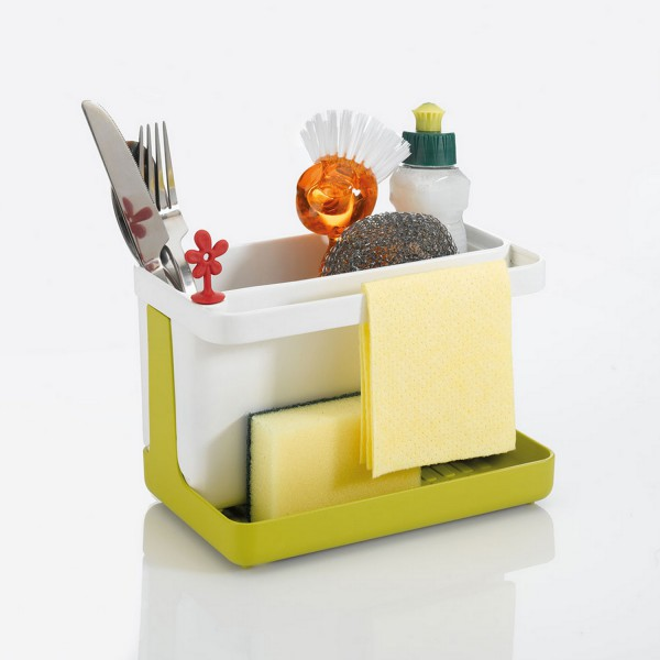 Rangement vier porte ponge for Rangement evier cuisine