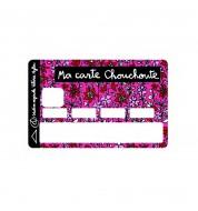 Sticker CB Chouchoute rose Valérie Nylin