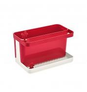 Rangement cuisine évier rouge Koziol