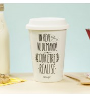 Mug take away Un rêve Mr Wonderful