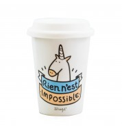 Mug licorne Take Away Mr Wonderful