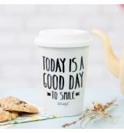 Grand mug take away Mr Wonderful Today