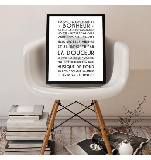 affiche poster affiche vintage mes mots d co. Black Bedroom Furniture Sets. Home Design Ideas