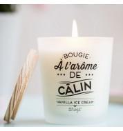 Bougie parfumée Calin vanille