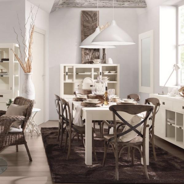 Buffet salle manger blanc buffet design - Buffet salle a manger design ...