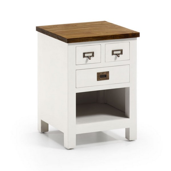 Table de chevet blanche table basse blanche - Table basse blanche tiroir ...