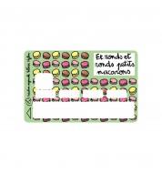 Sticker CB Macarons Valérie Nylin