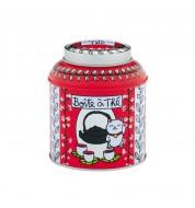 Boite à thé en vrac Chat rouge