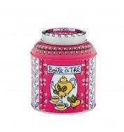 Boite à thé en vrac Colibri rose