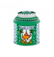 Boite à thé en vrac Papillon vert
