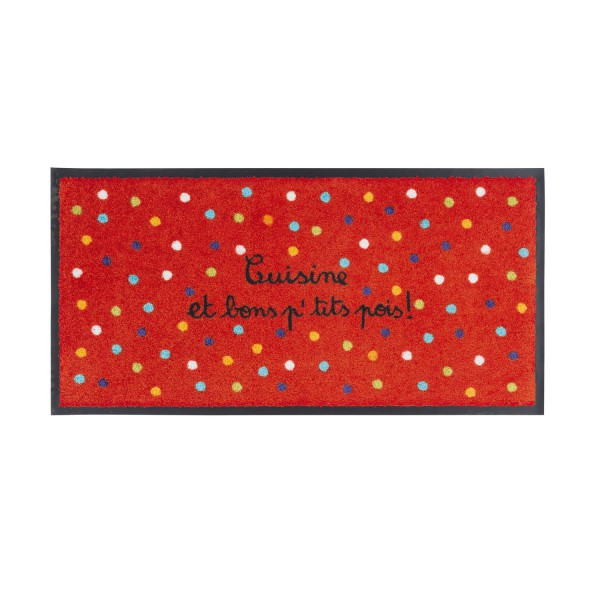 Tapis de cuisine tapis antid rapant color for Tapis de cuisine original