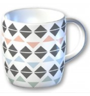 Mug graphique Triangle