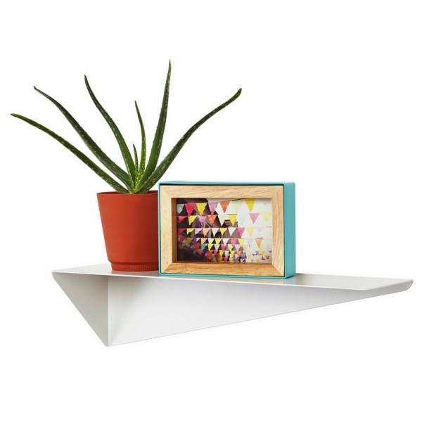etagere blanche umbra. Black Bedroom Furniture Sets. Home Design Ideas