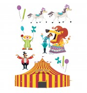 Sticker enfant Circus