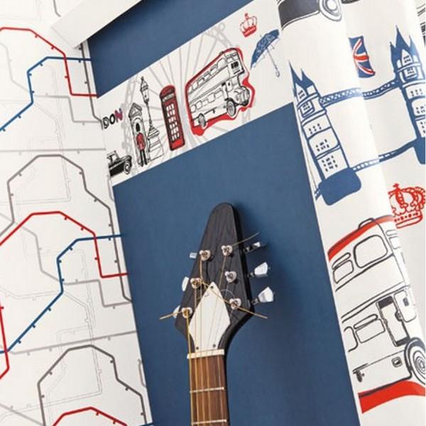 frise murale adh sive d coration chambre. Black Bedroom Furniture Sets. Home Design Ideas
