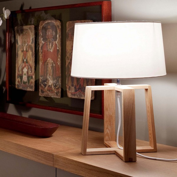 lampe a poser faro lampe salon originale. Black Bedroom Furniture Sets. Home Design Ideas