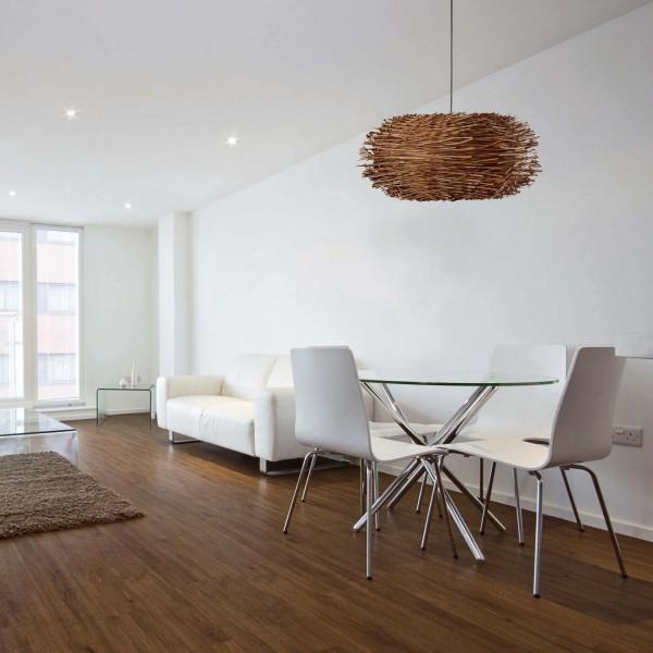 suspension luminaire en rotin faro. Black Bedroom Furniture Sets. Home Design Ideas