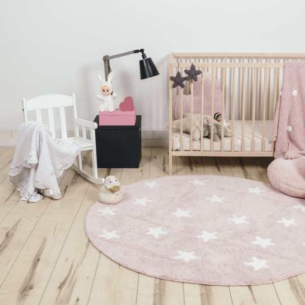 tapis rond chambre enfant tapis enfant coton nuage bleu bb lilipinso tapis rond au crochet. Black Bedroom Furniture Sets. Home Design Ideas