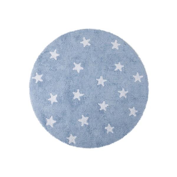 tapis rond enfant bleu lorena canals. Black Bedroom Furniture Sets. Home Design Ideas