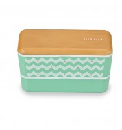 Bento lunchbox Vague vert (730ml)