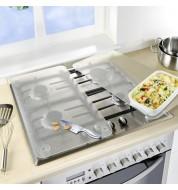 Plaque de protection cuisinière transparente Wenko