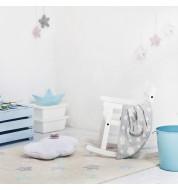 Tapis enfant lavable vanille multicolore Lorena Canals