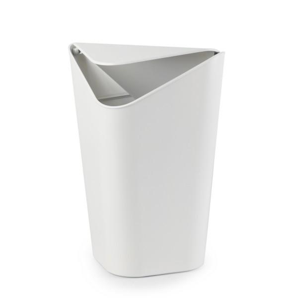 Poubelle salle de bain d 39 angle blanche accessoires salle de bain umbra - Ikea poubelle salle de bain ...