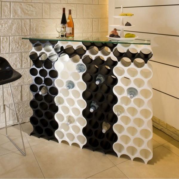 Range bouteille set up vert menthe rangement cuisine koziol for Range bouteille cuisine amenagee