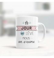 Mug céramique humeur amoureuse want it