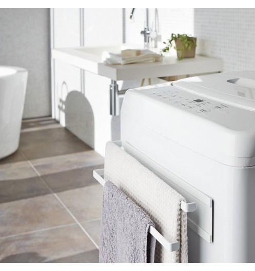 Rangement salle de bain porte serviette magn tique yamazaki for Rangement serviette