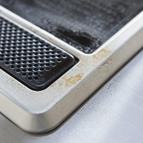 Support plaque cuisson accessoire de cuisine yamazaki - Protege plaque cuisson ...