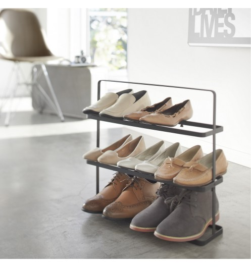 etagere chaussures design rangement chaussures yamazaki. Black Bedroom Furniture Sets. Home Design Ideas